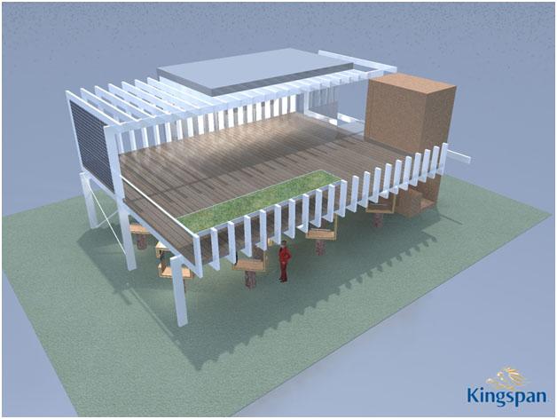 1118 Duurzaamheidspaviljoen Building Holland